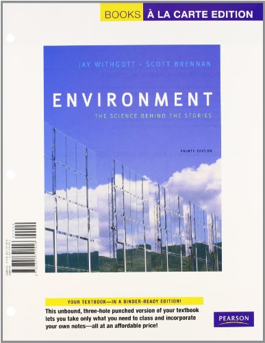 Environment: The Science behind the Stories, Books a la Carte Plus MasteringEnvironmentalScience -- Access Card Package