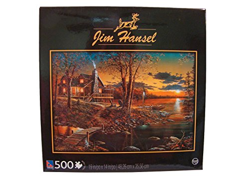 Jim Hansel 500 Piece Jigsaw Puzzle: Comforts of Home