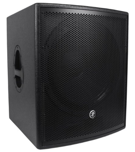 """Mackie S518S 1800 Watt 18"""" Passive Subwoofer With And Integrated Low-Pass Filter"""