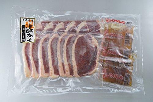 青森県産鴨肉 鴨鍋セット ロース 200g 鴨たれ付