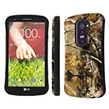 NakedShield Verizon / AT&T LG G2 D801 VS980 Hunter Camouflage Heavy Duty Shock Proof Armor Art KickStand Phone Case
