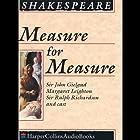 Measure for Measure Hörbuch von William Shakespeare Gesprochen von: Sir John Gielgud