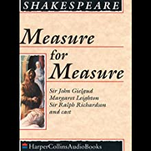 Measure for Measure | Livre audio Auteur(s) : William Shakespeare Narrateur(s) : Sir John Gielgud