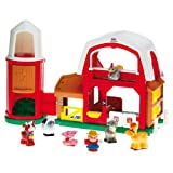 Fisher-Price - K0104 - Jouet Premier Age  - La Nouvelle Ferme Little Peoplepar Fisher Price