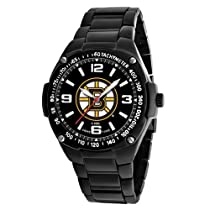 Game Time Unisex NHL-WAR-BOS Warrior Boston Bruins Analog 3-Hand Watch