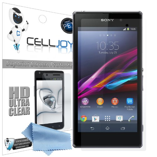Celljoy Sony Xperia Z1 Premium High Definition (Hd) Ultra Clear (Invisible) Screen Protectors With Lifetime Replacement Warranty [5-Pack] - Retail Packaging
