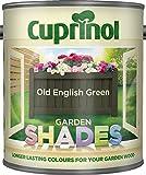 New 2014 Cuprinol Garden Shades Old English Green 1L
