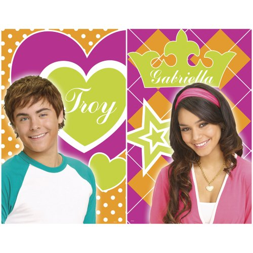 Blue Mountain Wallcoverings 31720495 High School Musical 2-Piece Wall Art