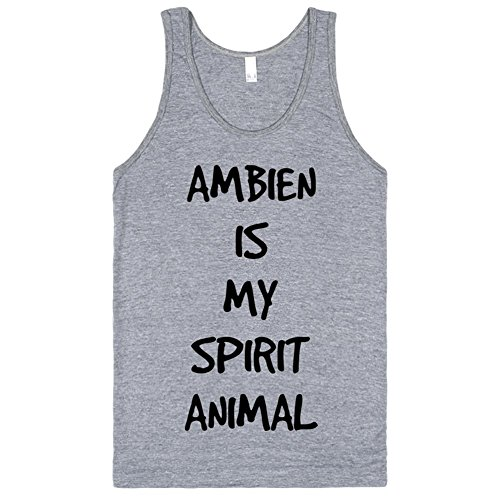 ambien-is-my-spirit-animal-l-athletic-grey-t-shirt