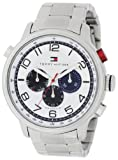 Tommy Hilfiger Men's 1790765 Sport Stainless-Steel Bracelet with Blue Subdials Watch