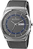 Skagen Men's Melbye SKW6078 Grey Stainless-Steel Quartz Watch