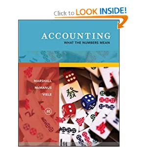 Accounting What The Numbers Mean Solutions Manual