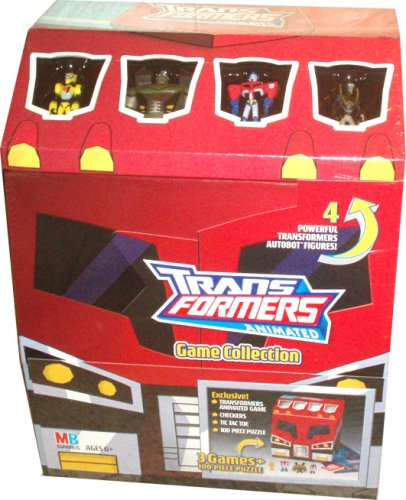 Transformers Animated Game Collection Box (English)