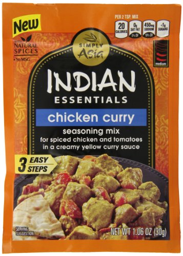 Indian Essentials Seasoning Mix, Chicken Curry, 1.6 Ounce (Pack of 12) (Butter Chicken Curry compare prices)