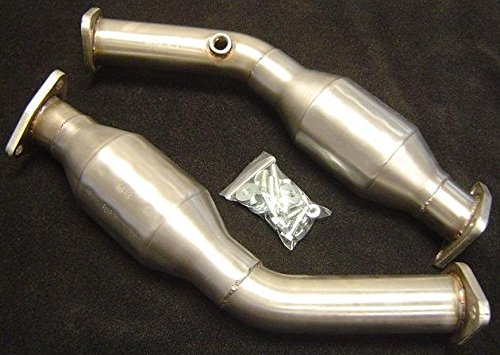 Kinetix Racing KX-HFC-HR High Flow Catalytic Converters, SMOG Legal - Nissan 07-08 350Z, 09+ 370Z / Infiniti 07-08 G35, 08+ G37 (HR Engines) (350z Catalytic Converter compare prices)