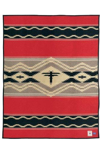 Pendleton Navajo Water Blanket Robe front-61345