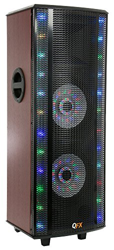 QFX SBX-415202BT Bluetooth Tower Home Theater Speaker System with Built-In Amplifier (Home Built In Speakers compare prices)