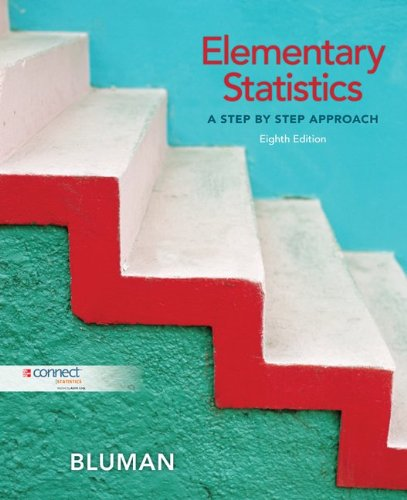 Elementary Statistics: A Step By Step Approach, (8th Edition)
