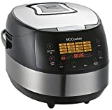 Slow Cooker 6 Quart Size w/ Induction Heating & 16 - 1 Preset Functions - Advanced 3D Dynamic Heating - Quick Reheat - 24 Hour Delay Timer - Auto Keep Warm - Accessories Incl Slow Cooker Recipes