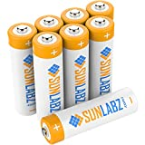 SunLabz® AA Rechargeable Batteries (8 Pack) NiMH Super Capacity 2800mAh