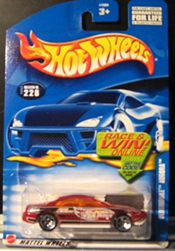 Hot Wheels 2002 Oldsmobile Aurora 228 MAROON 1:64 Scale - 1
