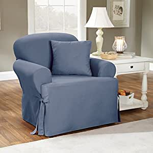 Amazon Sure Fit Cotton Duck T Cushion Chair