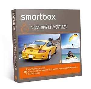 SMARTBOX - Coffret Cadeau - Sensations et aventures