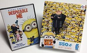 Despicable Me DVD + 550 Piece Despicable Me 2 Puzzle by Universal