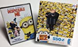 Despicable Me DVD + 550 Piece Despicable Me 2 Puzzle