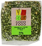 Good Food Pre-packed Organic Green Split Peas (Pack of 5)