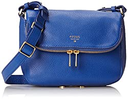 Fossil End of Season Sale Women's Handbag (Blue) (ZB5873439)