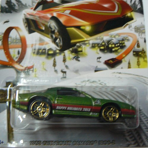 Hot Wheels Holidays 2013 2/8 1985 Chevrolet Camaro IROC-Z - 1