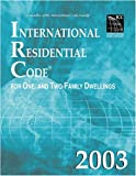 2003 International Residential Code - Soft-cover - 1892395584