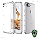 #1: ZAAP®(USA) Defender iPhone 6/6S Case, Shock-Absorbing protective {Award-winning Tech.} Transparent case /cover+ TPU bumper for iphone 6/6S( Transparent/Clear)