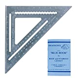 Swanson Big T0108 12 Speed Square with Blue Layout Book