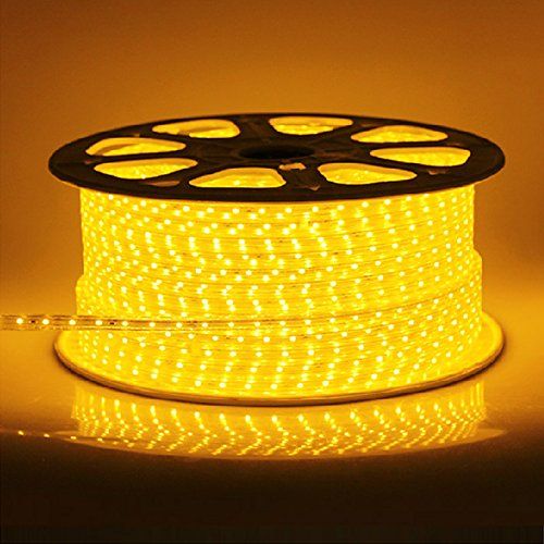Ledjump Flexible 300 Led Light Strip Ribbon 16 Ft 5 Meter 3M Tape Warm White 2700K 12 V