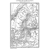 Grabado antiguo (1839) - Grabado al acero - Russie.- Littoral De La Mer Baltique (17x10), Desconocido