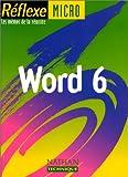 echange, troc Monique Langlet - Word 6 sous wind, mémo numéro 15