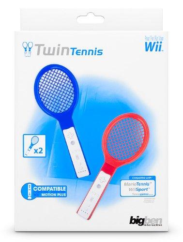BigBen Interactive BB268034 Tennis Racket TWIN PACK Sport / tempo libero