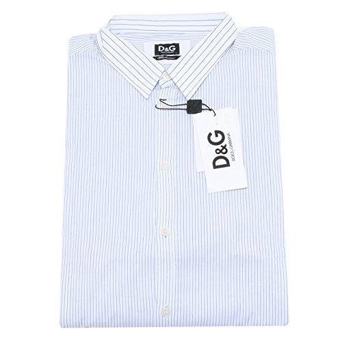 20295 camicia D&G DOLCE&GABBANA righe camicie uomo shirt men [54]