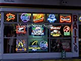 New Bowling Pins Balls Real Glass Tube Handcrafted Neon Sign Beer Bar Pub Restaurant Totel Coffe Shop Recreation Room Game Room Window Garage Wall Sign Neon Light Sign