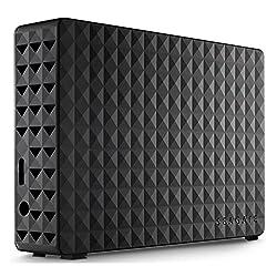 SEAGATE STEB3000300 3 TB Desktop External 3.5'' Hard Drive With Power Adapter