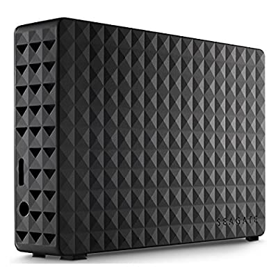 SEAGATE 3 TB DESKTOP EXTERNAL 3.5'' HARD DRIVE WITH POWER ADAPTOR