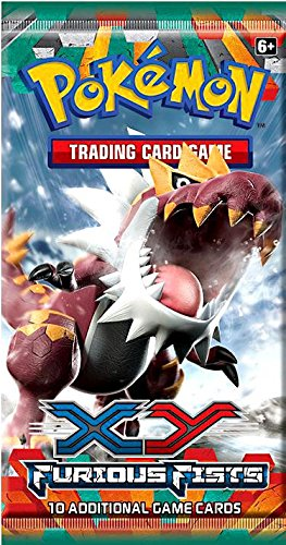 Pokémon Trading Card Game: XY Furious Fists Booster Pack (1 random pack)