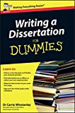Writing a Dissertation For Dummies