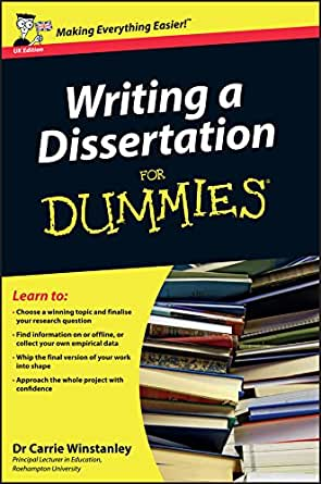 Writing A Dissertation Proposal For Dummies