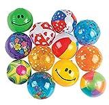 """Mini Beach Inflatable Balls - 25 Count - 5"""" beach balls"""
