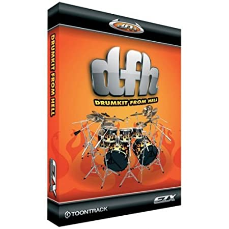 Toontrack Drumkit From Hell EZX (Expansion Kit for EZDrummer)