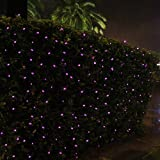 InnooTech Outdoor Christmas Tree Lights Pink 100 LED Solar Powered String Lights for Patio, Garden, Xmas, Party, Wedding(pink)