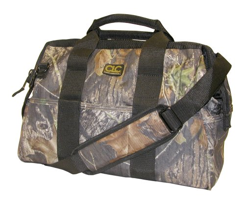 "CLC Sportsman Mossy Oak 1165M  22 Pocket - 16-inch Bigmouth Bag, ""EXPLORER"""
